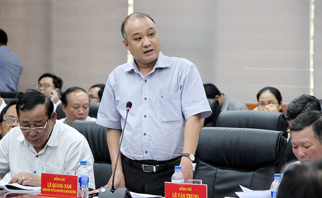 Sẽ phạt kịch khung Công ty Kim Long Nam vì lén xả thải ra biển Đà Nẵng - Ảnh 1.