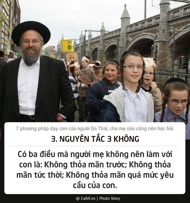 7 phương pháp dạy con của người Do Thái, cha mẹ nào cũng nên học hỏi - Ảnh 3.