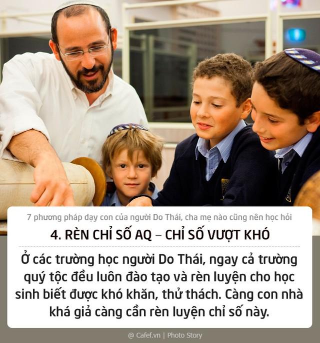 7 phương pháp dạy con của người Do Thái, cha mẹ nào cũng nên học hỏi - Ảnh 4.