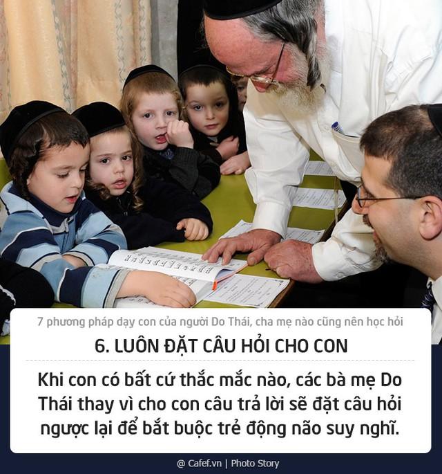 7 phương pháp dạy con của người Do Thái, cha mẹ nào cũng nên học hỏi - Ảnh 6.