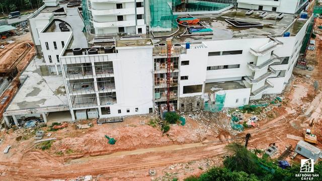 Cận cảnh công đoạn xây dựng dự án trọng điểm y tế 5.800 tỷ đồng, tân tiến bậc nhất ở khu Đông (Tp.HCM) - Ảnh 5.