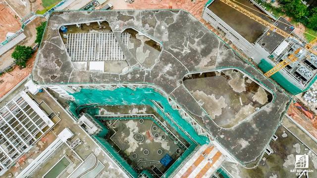 Cận cảnh công đoạn xây dựng dự án trọng điểm y tế 5.800 tỷ đồng, tân tiến bậc nhất ở khu Đông (Tp.HCM) - Ảnh 9.