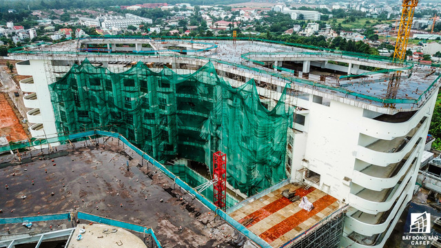 Cận cảnh công đoạn xây dựng dự án trọng điểm y tế 5.800 tỷ đồng, tân tiến bậc nhất ở khu Đông (Tp.HCM) - Ảnh 18.