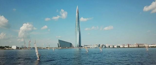 Ảnh: Chóng mặt có tòa tháp cao nhất châu Âu sắp đã đi vào hoạt động ở Nga - Ảnh 6.