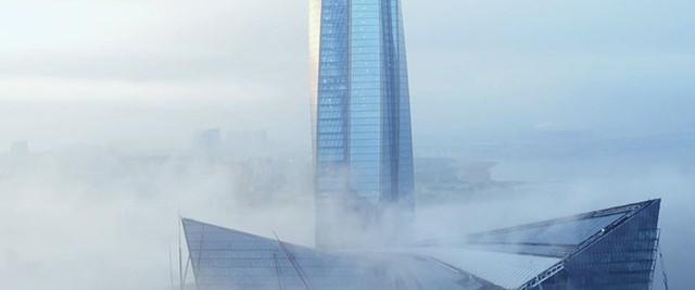 Ảnh: Chóng mặt có tòa tháp cao nhất châu Âu sắp đã đi vào hoạt động ở Nga - Ảnh 7.
