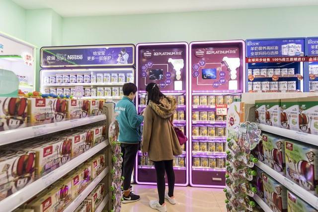Niềm tin của người tiêu dùng là lợi thế lớn cho các hãng sữa nước ngoài ở Trung Quốc.