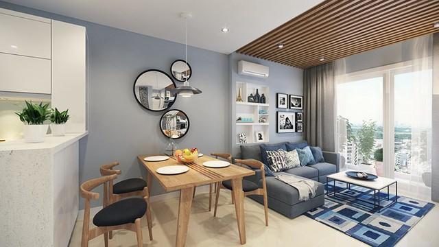 Căn hộ 66 m2 được kiến trúc hợp lý cho gia đình 3 thành viên - Ảnh 3.
