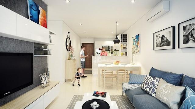 Căn hộ 66 m2 được kiến trúc hợp lý cho gia đình 3 thành viên - Ảnh 4.