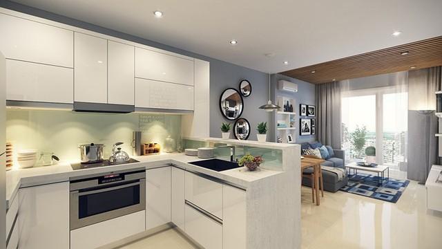 Căn hộ 66 m2 được kiến trúc hợp lý cho gia đình 3 thành viên - Ảnh 6.