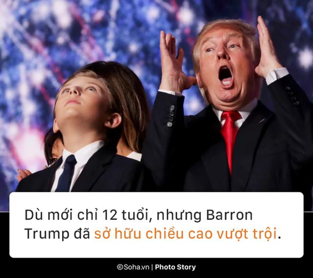 [PHOTO STORY] Con trai út của TT Trump: Thích vest, hay chơi golf, 12 tuổi cao gần 1,9m - Ảnh 3.