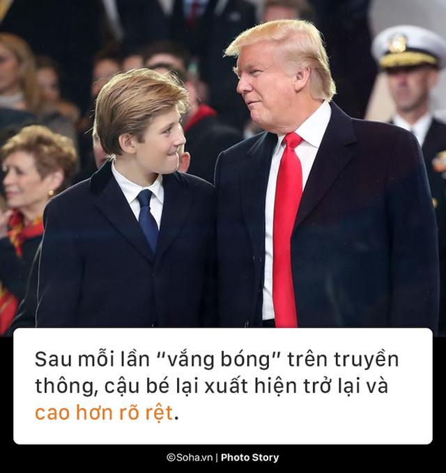 [PHOTO STORY] Con trai út của TT Trump: Thích vest, hay chơi golf, 12 tuổi cao gần 1,9m - Ảnh 4.