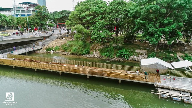 Toàn cảnh dự án cầu tản bộ siêu sang lát gỗ lim gần 53 tỷ đồng ở Huế - Ảnh 6.