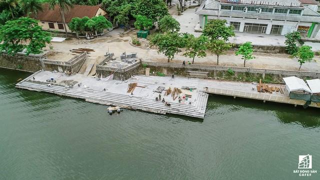 Toàn cảnh dự án cầu đi bộ siêu sang lát gỗ lim gần 53 tỷ đồng ở Huế - Ảnh 12.