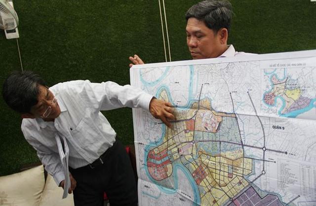 Dân Thủ Thiêm nói về 4,3 ha đất thu hồi không đúng quy hoạch - Ảnh 2.