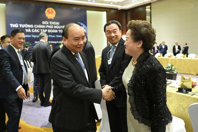 Điều đặc biệt tại cuộc gặp của Thủ tướng Nguyễn Xuân Phúc với 20 tập đoàn toàn cầu - Ảnh 4.