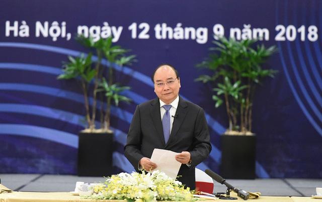 Điều đặc biệt tại cuộc gặp của Thủ tướng Nguyễn Xuân Phúc với 20 tập đoàn toàn cầu - Ảnh 2.