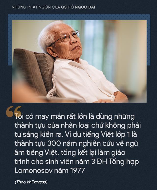 GS Hồ Ngọc Đại và 12 chia sẻ ấn tượng - Ảnh 4.