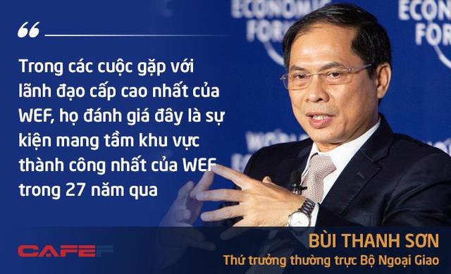 Thứ trưởng Bùi Thanh Sơn mở bán các con số biết nói về WEF ASEAN 2018 - Ảnh 1.