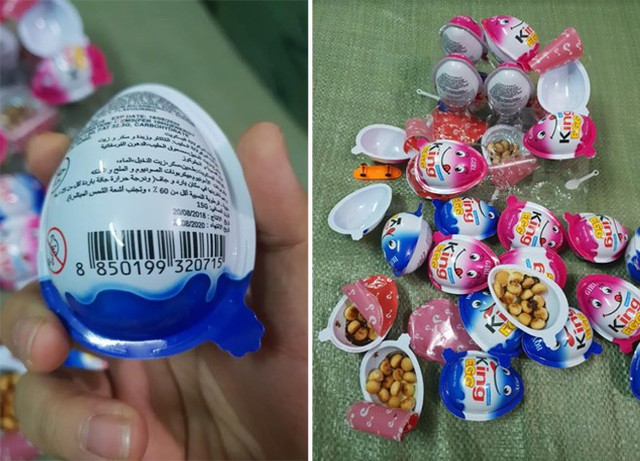 1,5 tấn bánh kẹo quả trứng King Egg không rõ nguồn gốc - Ảnh 2.
