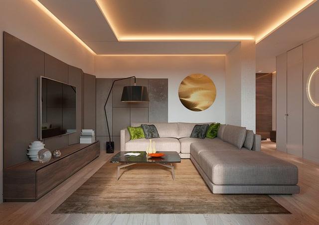 Thiết kế đèn âm tường giúp căn hộ trở nên lung linh - Ảnh 2.