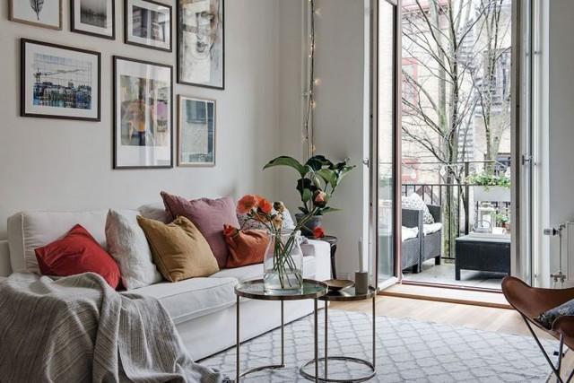 Thiết kế căn hộ 46m2 rộng thoáng không ngờ, đốn tim vạn người - Ảnh 2.