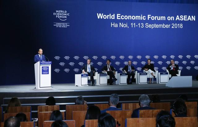 Việt Nam muốn cùng WEF thúc đẩy đối thoại và quan hệ đối tác rộng mở - Ảnh 1.