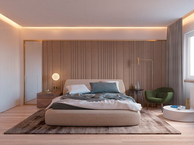 Thiết kế đèn âm tường giúp căn hộ trở nên lung linh - Ảnh 5.