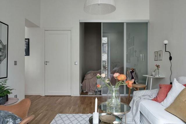 Thiết kế căn hộ 46m2 rộng thoáng không ngờ, đốn tim vạn người - Ảnh 6.