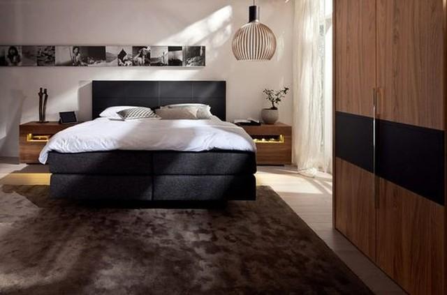 Thiết kế phòng ngủ có bên trong xe bằng gỗ ấm áp - Ảnh 16.