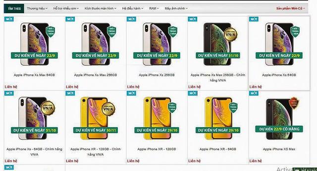 Apple ra siêu phẩm mới: Thị trường iPhone xách tay tại Việt Nam bị thổi giá trên trời - Ảnh 4.