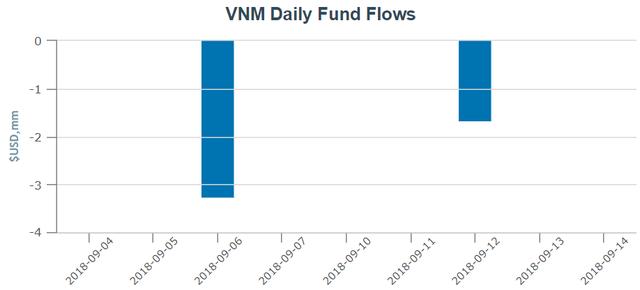 Dòng tiền bị rút khỏi VNM ETF và FTSE Vietnam ETF trước ngày cơ cấu danh mục quý 3 - Ảnh 1.