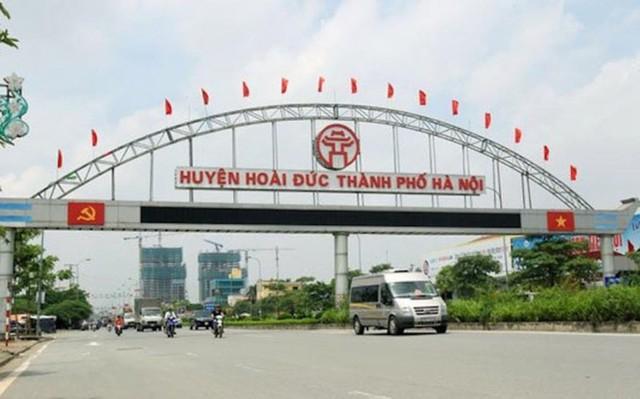 Hà Nội lập ban chỉ đạo đưa huyện Hoài Đức lên quận năm 2020 - Ảnh 1.