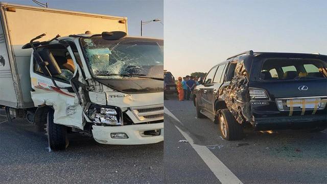 Vụ tài xế Lexus biển tứ quý bị tông tử vong khi làm việc với CSGT: Tôi bị giật mình, không xử lý kịp - Ảnh 1.