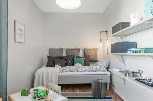 Căn hộ 2 phòng ngủ thiết kế ấn tượng với gam màu hồng cho những gia đình trẻ - Ảnh 13.