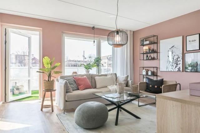 Căn hộ 2 phòng ngủ thiết kế ấn tượng với gam màu hồng cho những gia đình trẻ - Ảnh 5.