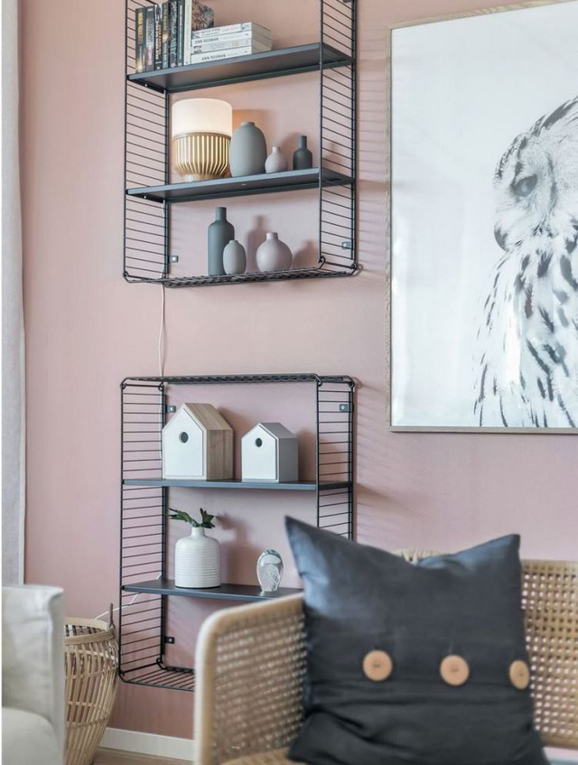 Căn hộ 2 phòng ngủ thiết kế ấn tượng với gam màu hồng cho những gia đình trẻ - Ảnh 6.