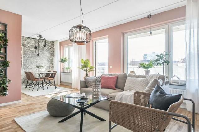 Căn hộ 2 phòng ngủ thiết kế ấn tượng với gam màu hồng cho những gia đình trẻ - Ảnh 7.