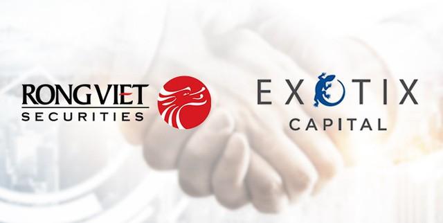 Chứng khoán Rồng Việt thành đối tác của Exotix Capital – ngân hàng đầu tư Anh quốc