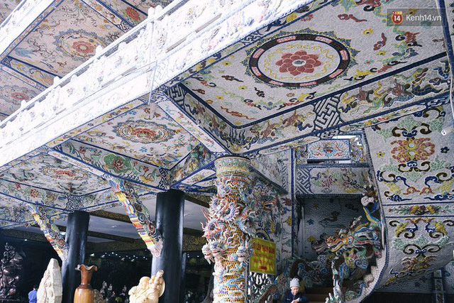Chuyện về những người đi nhặt ve chai để xây nên ngôi chùa khảm miếng lớn nhất Đà Lạt - Ảnh 8.