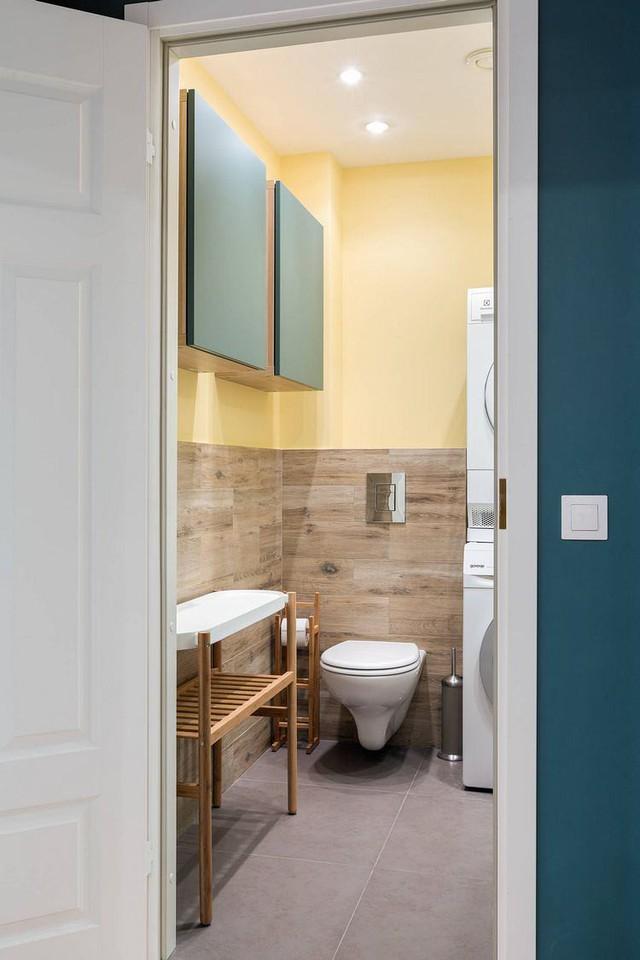 Căn hộ 2 phòng ngủ được bố trí nội thất tiện nghi, sang trọng dành cho những gia đình trẻ - Ảnh 12.