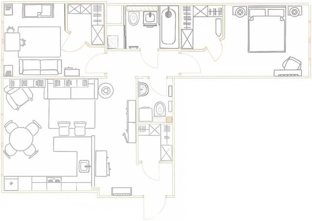Căn hộ 2 phòng ngủ được bố trí nội thất tiện nghi, sang trọng dành cho những gia đình trẻ - Ảnh 14.