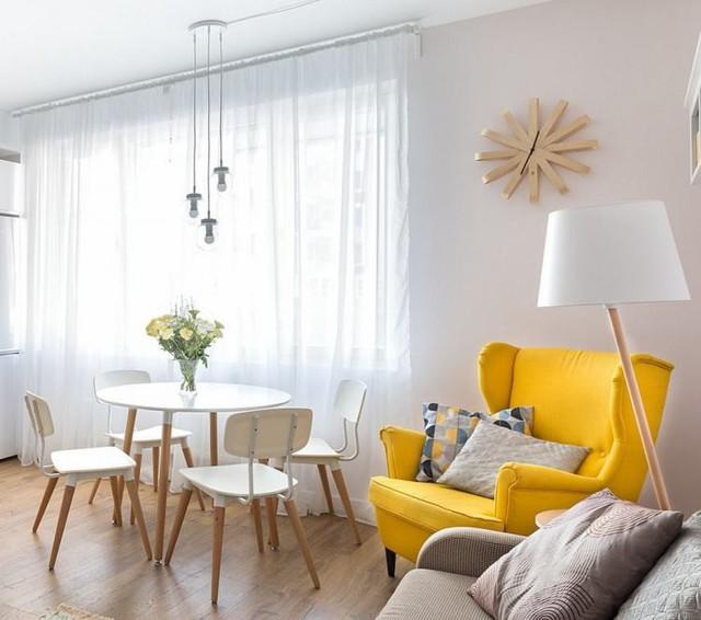 Căn hộ 2 phòng ngủ được bố trí nội thất tiện nghi, sang trọng dành cho những gia đình trẻ - Ảnh 6.