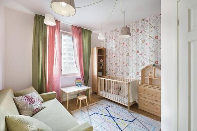 Căn hộ 2 phòng ngủ được bố trí nội thất tiện nghi, sang trọng dành cho những gia đình trẻ - Ảnh 9.