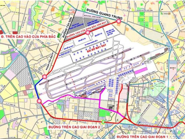 Hàng vạn người dân TP.HCM sẽ hưởng lợi khi tuyến đường mới nghìn tỷ này nối trung tâm với sân bay Tân Sơn Nhất xây dựng - Ảnh 1.
