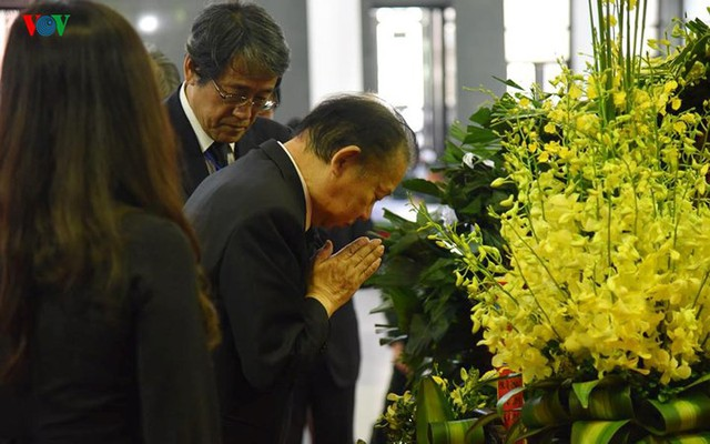 Các đoàn đại biểu quốc tế viếng Chủ tịch nước Trần Đại Quang - Ảnh 12.