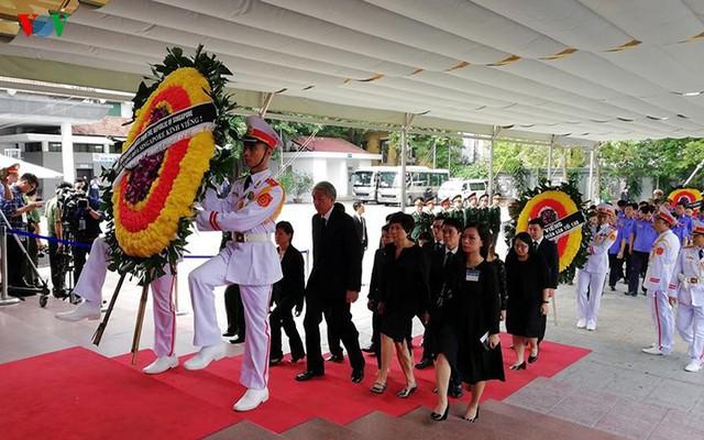 Các đoàn đại biểu quốc tế viếng Chủ tịch nước Trần Đại Quang - Ảnh 13.