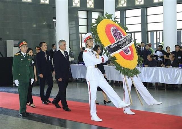 Các đoàn đại biểu quốc tế viếng Chủ tịch nước Trần Đại Quang - Ảnh 21.