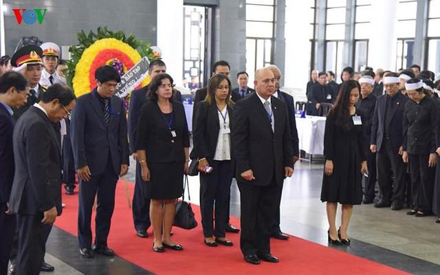 Các đoàn đại biểu quốc tế viếng Chủ tịch nước Trần Đại Quang - Ảnh 5.