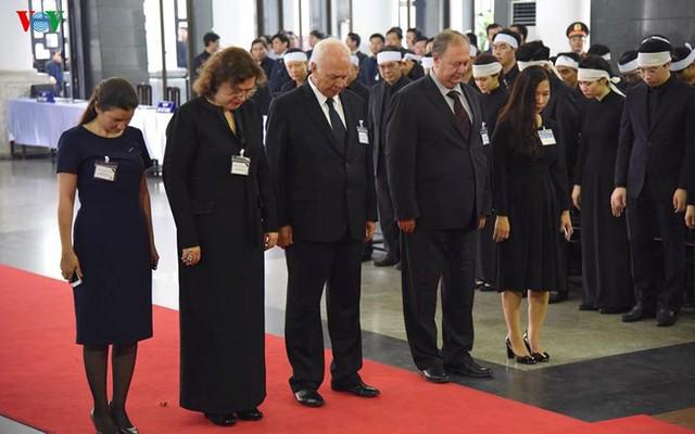 Các đoàn đại biểu quốc tế viếng Chủ tịch nước Trần Đại Quang - Ảnh 7.
