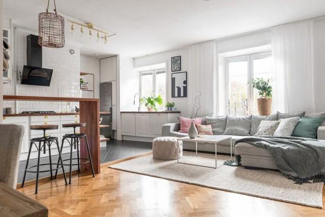 Học cách thiết kế căn hộ 66m2 tiên tiến, tiện nghi cho gia đình trẻ - Ảnh 2.